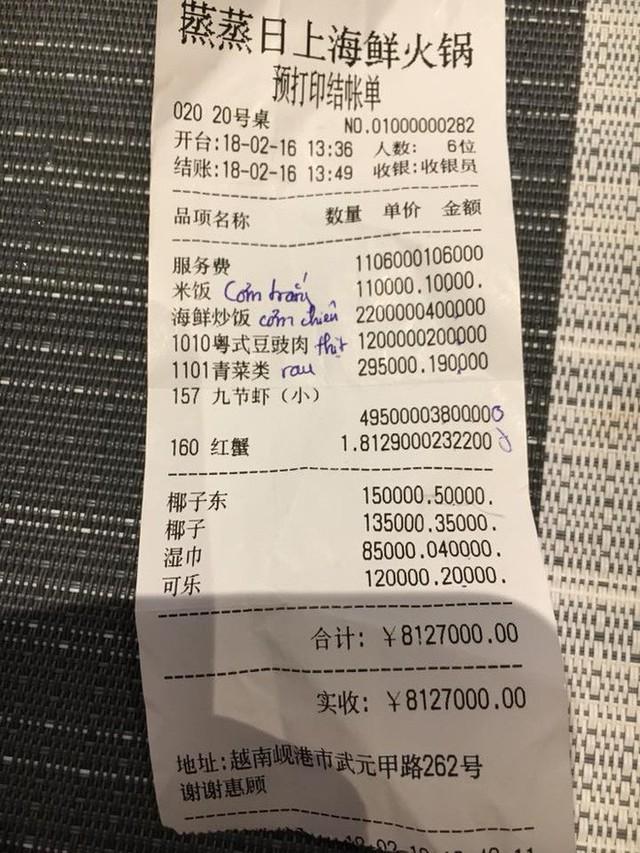 Vụ hóa đơn toàn chữ Trung Quốc ở Đà Nẵng: Công an, quản lý thị trường vào cuộc kiểm tra - Ảnh 1.