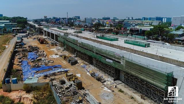 Toàn cảnh 20km tuyến một vài con phố sắt metro số 1 Bến Thành - Suối Tiên đang dần thành hình - Ảnh 11.