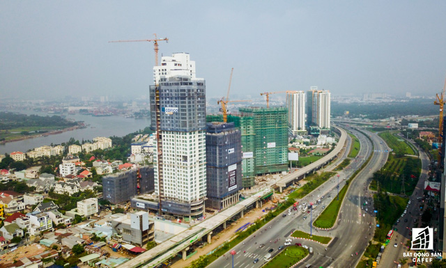 Toàn cảnh 20km tuyến một vài con phố sắt metro số 1 Bến Thành - Suối Tiên đang dần thành hình - Ảnh 8.