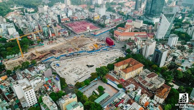 Toàn cảnh 20km tuyến một vài con phố sắt metro số 1 Bến Thành - Suối Tiên đang dần thành hình - Ảnh 5.