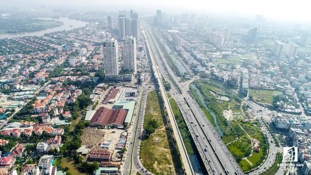 Toàn cảnh 20km tuyến một vài con phố sắt metro số 1 Bến Thành - Suối Tiên đang dần thành hình - Ảnh 7.