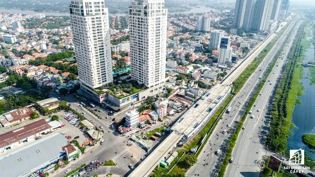 Toàn cảnh 20km tuyến một vài con phố sắt metro số 1 Bến Thành - Suối Tiên đang dần thành hình - Ảnh 9.