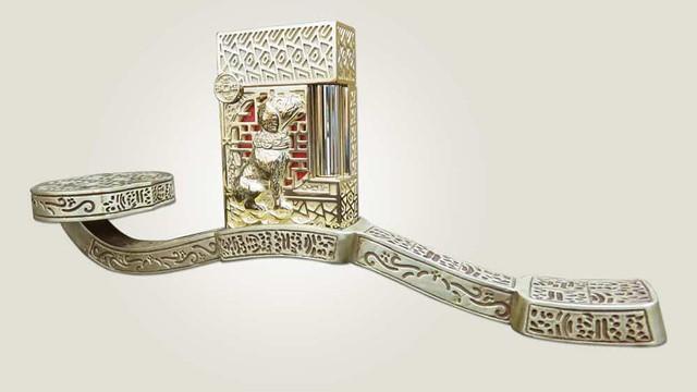 Chiêm ngưỡng bộ đôi sản phẩm bút và bật lửa phiên bản riêng cho năm Mậu Tuất - Biểu tượng cho tài sản và quyền lực của đàn ông quý tộc - Ảnh 3.