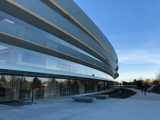 Chiêm ngưỡng trụ sở mới trị giá 5 tỷ USD của Táo khuyết - Ảnh 1.