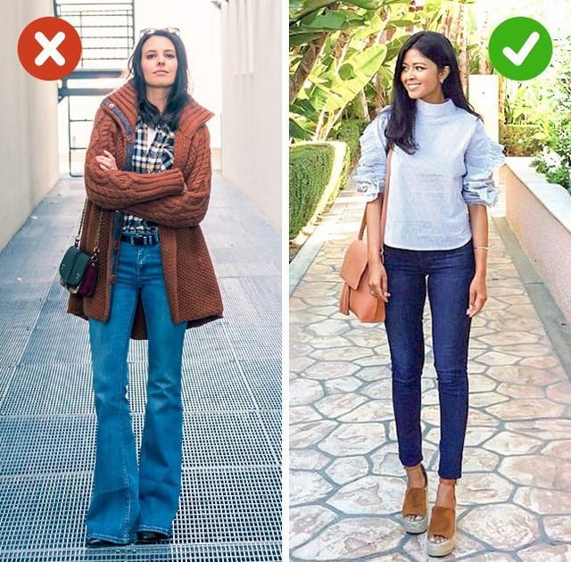 Bắt lỗi 5 kiểu ăn mặc khiến bạn già đi cả chục tuổi - Ảnh 3.
