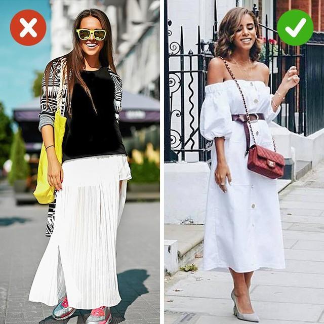 Bắt lỗi 5 kiểu ăn mặc khiến bạn già đi cả chục tuổi - Ảnh 5.