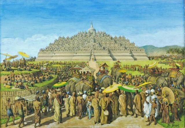Ngôi đền Phật giáo lớn nhất thế giới: Nơi ngắm bình minh và hoàng hôn tuyệt đẹp! - Ảnh 2.