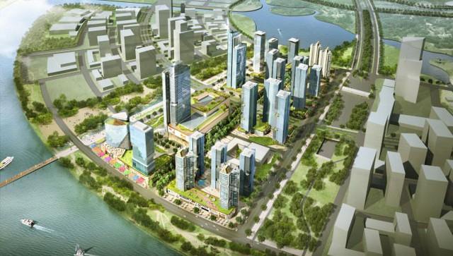 """[Chuyển động dự án tỷ USD 2018] – Sắp bắt đầu làm dự án """"thành phố thông minh"""" gần 1 tỷ USD ở Thủ Thiêm - Ảnh 1."""