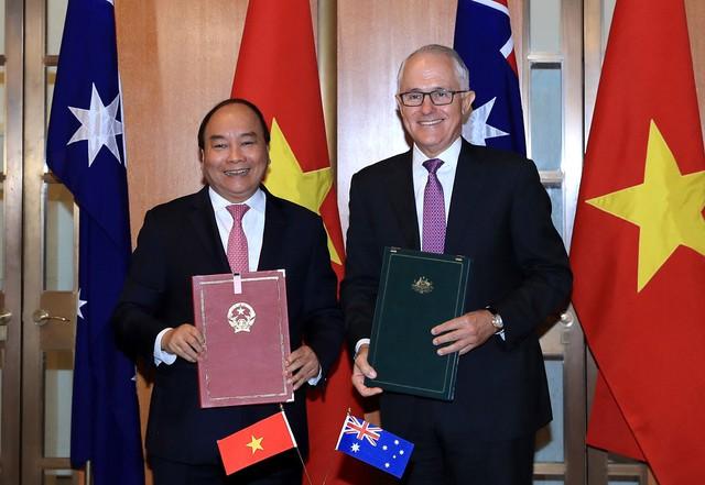 Việt Nam, Australia thiết lập quan hệ Đối tác chiến lược - Ảnh 1.