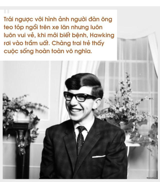 Cuộc đời sóng gió của Stephen Hawking: Bộ óc thiên tài trong thân hình teo tóp, hạnh phúc mỉm cười dưới vực thẳm bi quan - Ảnh 3.