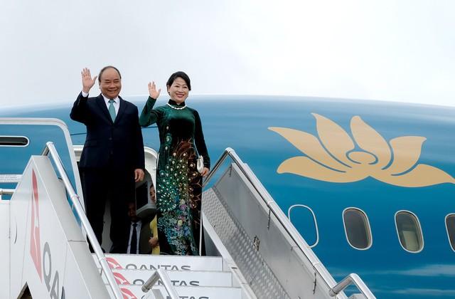 Thủ tướng đến thành phố Sydney, dự Hội nghị ASEAN-Australia - Ảnh 1.