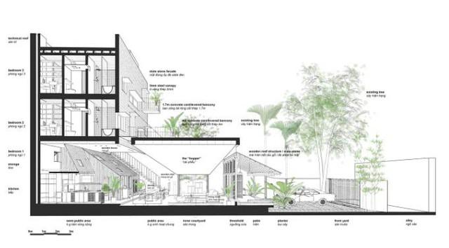 Ngôi nhà có nét kiến trúc cổ Bắc Bộ xuất hiện lung linh trên báo ngoại - Ảnh 20.
