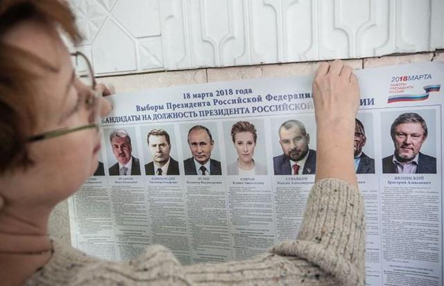 [CẬP NHẬT] 100 triệu cử tri Nga bắt đầu bỏ phiếu bầu Tổng thống - Ảnh 7.