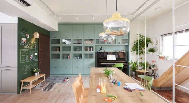 Căn hộ có thiết kế nội thất đẹp như mơ của cặp vợ chồng trẻ - Ảnh 2.