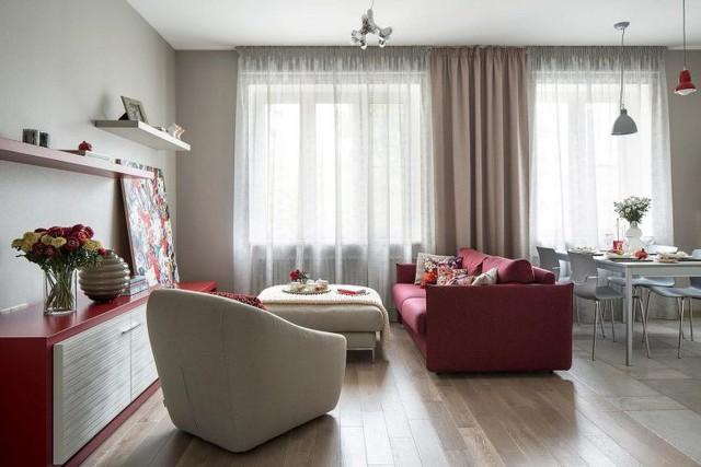 Mê mẩn có căn hộ chung cư 65m2 kiến trúc ấn tượng - Ảnh 3.