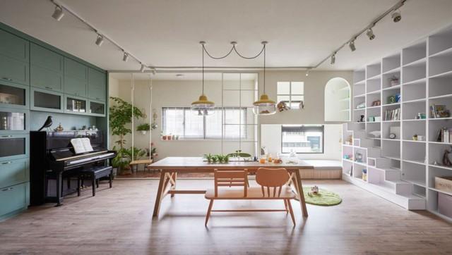 Căn hộ có thiết kế nội thất đẹp như mơ của cặp vợ chồng trẻ - Ảnh 4.