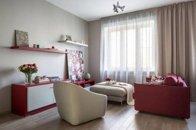 Mê mẩn có căn hộ chung cư 65m2 kiến trúc ấn tượng - Ảnh 5.