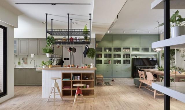 Căn hộ có thiết kế nội thất đẹp như mơ của cặp vợ chồng trẻ - Ảnh 6.