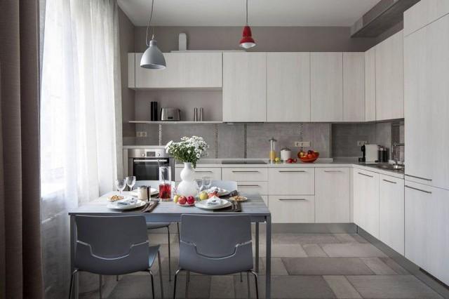 Mê mẩn có căn hộ chung cư 65m2 kiến trúc ấn tượng - Ảnh 8.