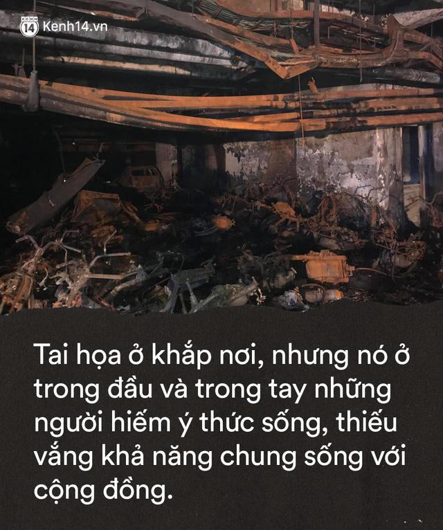 Từ bức ảnh gương mặt 2 em bé ám đầy khói đen: Đừng giết bản thân và hàng xóm vì những sự hồn nhiên khi sống trong chung cư - Ảnh 8.