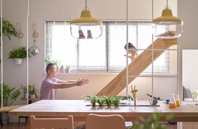 Căn hộ có thiết kế nội thất đẹp như mơ của cặp vợ chồng trẻ - Ảnh 9.