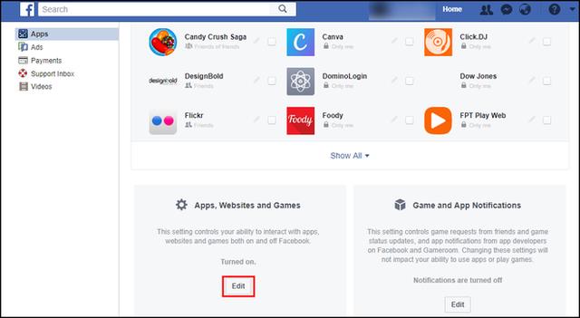 Hướng dẫn cách chống bị hack dữ liệu cá nhân trên Facebook - Ảnh 3.
