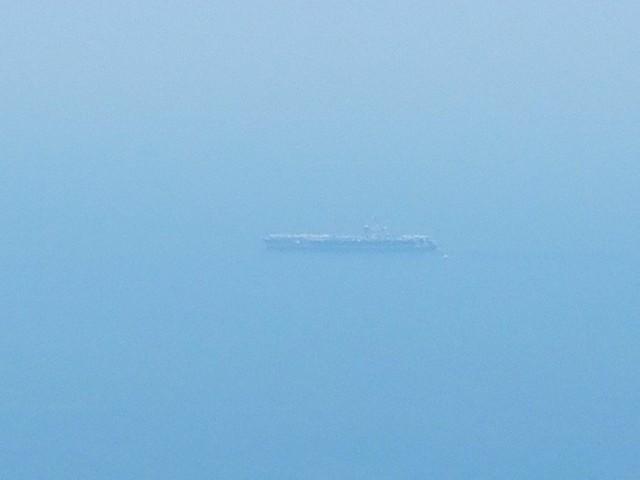 [CẬP NHẬT]: Sau tàu sân bay, tàu tuần dương Mỹ cũng đang tiến vào vịnh Đà Nẵng - Ảnh 13.