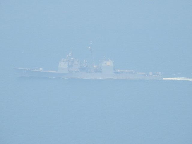 [CẬP NHẬT]: Sau tàu sân bay, tàu tuần dương Mỹ cũng đang tiến vào vịnh Đà Nẵng - Ảnh 7.