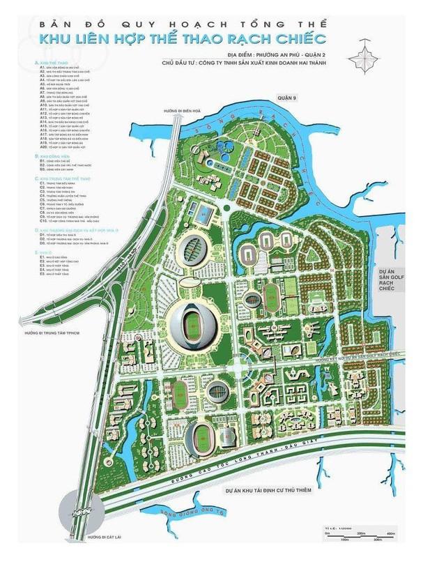 TP.HCM: Chuẩn bị tổ chức tuyển chọn phương án quy hoạch Khu liên hợp TDTT quốc gia Rạch Chiếc - Ảnh 1.