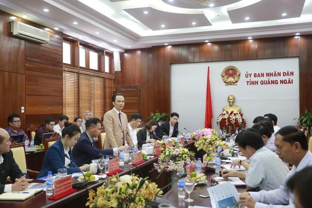 """Tập đoàn FLC sẽ triển khai """"siêu"""" dự án 3.890 ha ở Quảng Ngãi - Ảnh 1."""