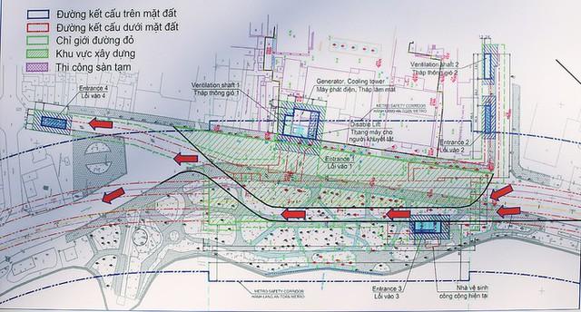 Ga tàu điện ngầm Thứ nhất ở Hồ Gươm trông thế nào? - Ảnh 10.