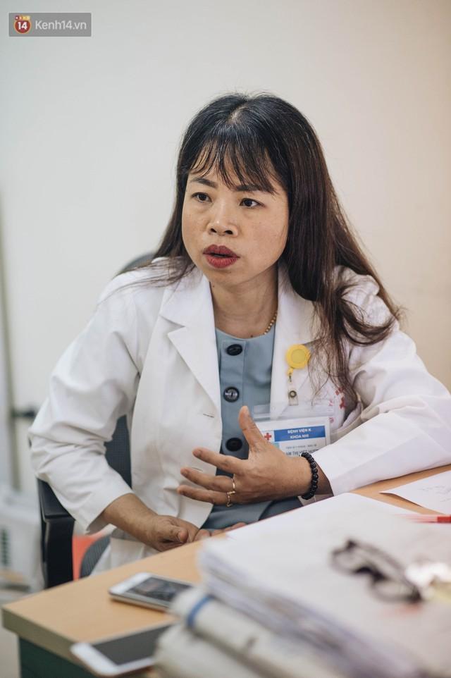 Chuyện nữ tiến sĩ viện K kiên trì xin được cứu bệnh nhi: Nếu 99% là thua thì hãy cho chị 1% còn lại để cứu con của em! - Ảnh 1.