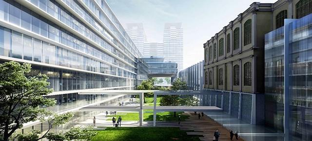 Lấy ý kiến thiết kế mở rộng trụ sở UBND TP.HCM - Ảnh 2.