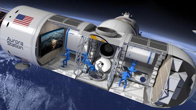 Mức giá không tưởng cho một đêm ngủ tại khách sạn ngoài không gian đầu tiên trên thế giới - Ảnh 1.