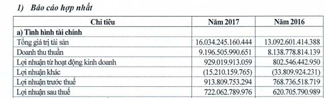 Viglacera: Kế hoạch lãi trước thuế 950 tỷ đồng năm 2018 - Ảnh 2.