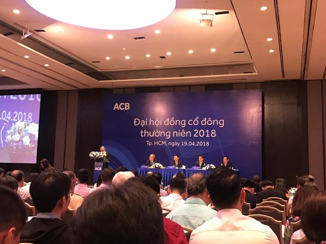Mâu thuẫn tại Đại hội ACB khi ứng viên liên quan tới Bầu Kiên không có trong danh sách ứng cử HĐQT - Ảnh 1.