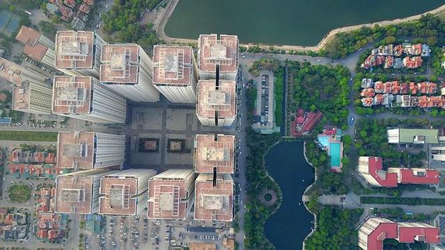 Ngộp thở ở một vài khu chung cư dày đặc, chọc trời giữa Thủ đô - Ảnh 5.