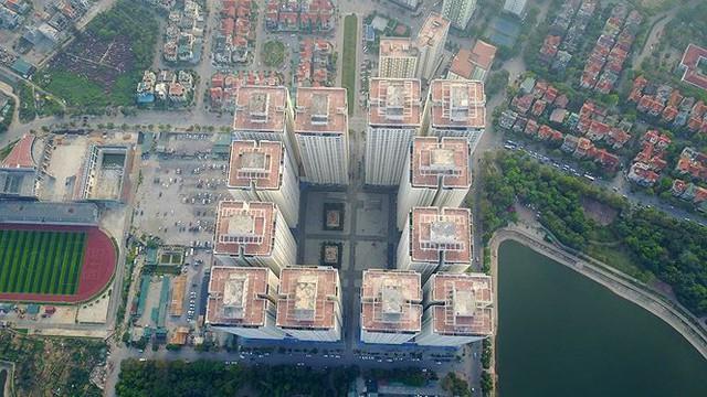 Ngộp thở ở một vài khu chung cư dày đặc, chọc trời giữa Thủ đô - Ảnh 9.