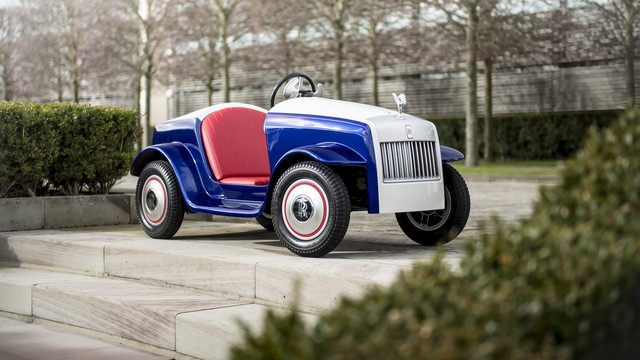 Đằng sau siêu xe tí hon Rolls-Royce là câu chuyện bất ngờ và đầy ý nghĩa  - Ảnh 7.