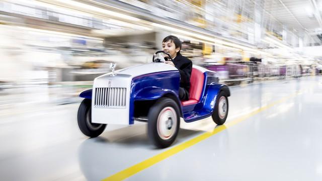 Đằng sau siêu xe tí hon Rolls-Royce là câu chuyện bất ngờ và đầy ý nghĩa  - Ảnh 2.