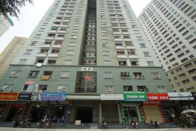 Cận cảnh loạt chung cư là điểm đen phòng cháy ở Hà Nội - Ảnh 2.