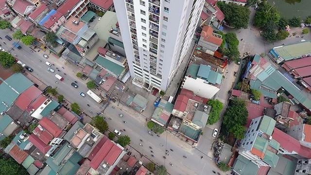 Cận cảnh loạt chung cư là điểm đen phòng cháy ở Hà Nội - Ảnh 11.