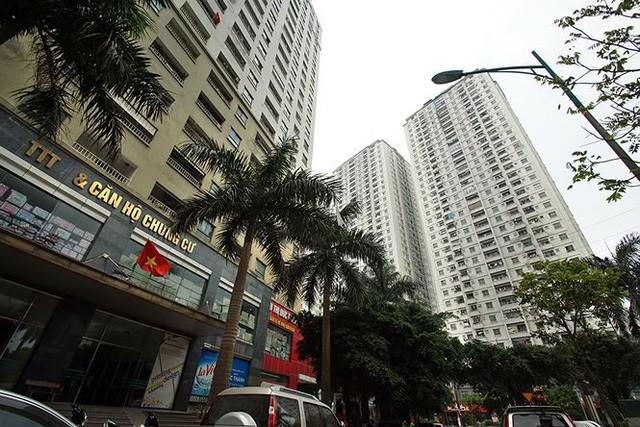 Cận cảnh loạt chung cư là điểm đen phòng cháy ở Hà Nội - Ảnh 7.