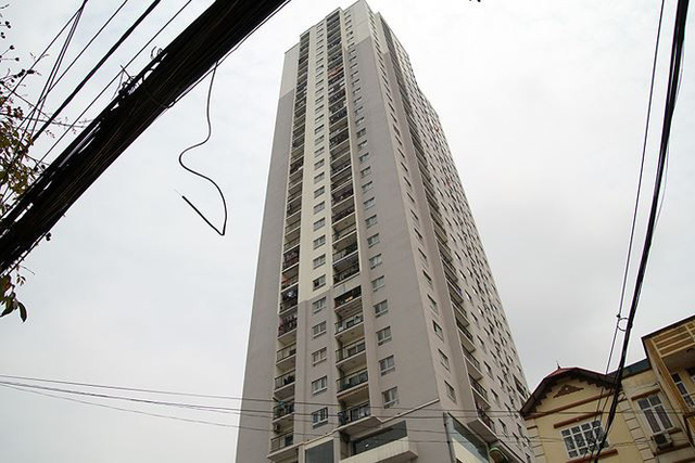 Cận cảnh loạt chung cư là điểm đen phòng cháy ở Hà Nội - Ảnh 10.