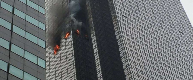 Cháy tháp Trump ở Mỹ, ít nhất 1 người chết - Ảnh 1.