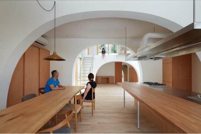 Tròn mắt ngắm ngôi nhà ống cực xinh ở Nhật - Ảnh 13.