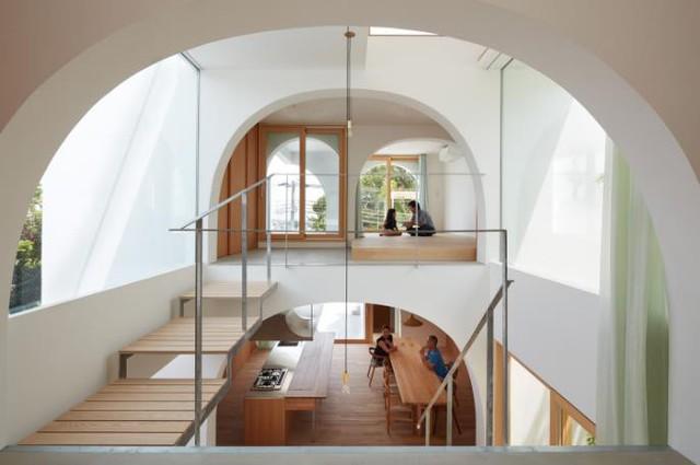 Tròn mắt ngắm ngôi nhà ống cực xinh ở Nhật - Ảnh 4.