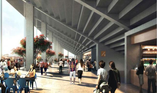 Bầu Hiển xây sân vận động Hàng Đẫy mới 250 triệu Euro trông như sân bóng Ngoại hạng Anh - Ảnh 7.
