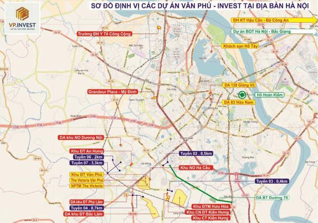 """Văn Phú Invest (VPI): Mục tiêu gần 800 tỷ lợi nhuận hợp nhất, triển khai 4 dự án lớn trên """"đất vàng"""" Thủ đô trong năm 2018 - Ảnh 2."""