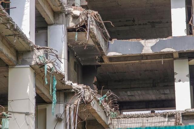 Cao ốc nham nhở, bỏ hoang trên đất vàng Thủ đô - Ảnh 9.